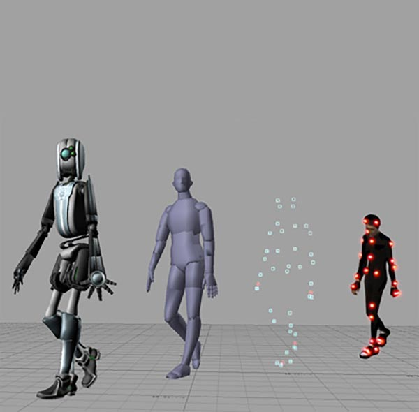 3D Animation Motion Capture